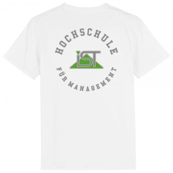 """Herren-T-Shirt """"College"""" weiß"""