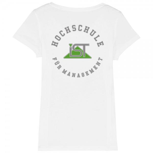 """Damen-T-Shirt """"College"""" weiß"""